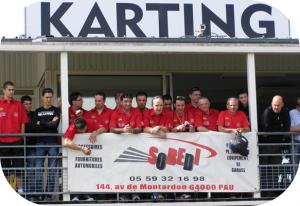 Sobedi au Karting d'Espoey