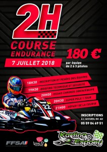 Endurance 7 Juillet 2018