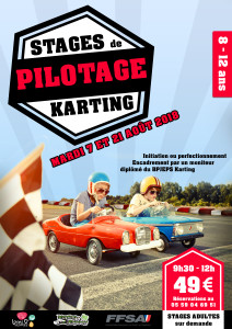 Stages pilotage Août 2018